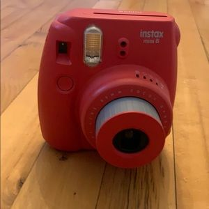 Other - Red instax camera mini 8